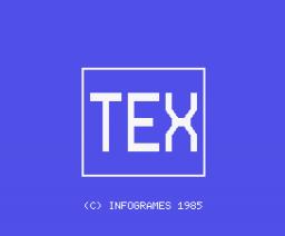 Tex (1985, MSX, Infogrames)