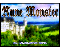 Rune Monster (2016, MSX2, Kai Magazine)