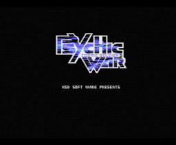 Psychic War - Cosmic Soldier 2 (1987, MSX, Kogado Studio)