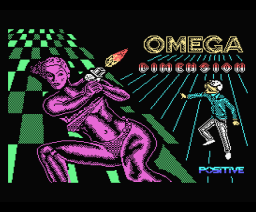 Omega Dimensión (1989, MSX, Positive)