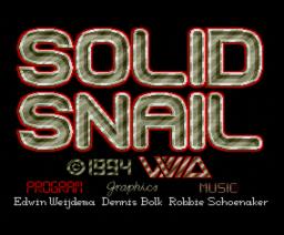 Solid Snail (1994, MSX2, Vivid)