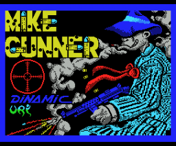 Mike Gunner (Gunstick version) (1988, MSX, Dinamic)