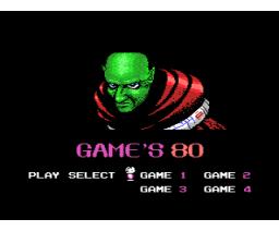 Game's 80 (MSX, Zemina)
