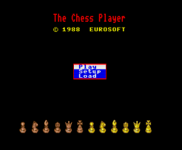 The Chess Player (MSX2) (1988, MSX2, Eurosoft)