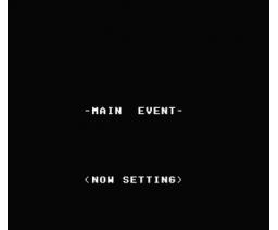 Wrestling (1986, MSX, Grupo de Trabajo Software (G.T.S.))