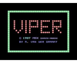 Viper (1987, MSX, Martin van der Graaff)