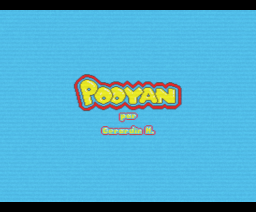Pooyan (MSX2, Gerardin H.)