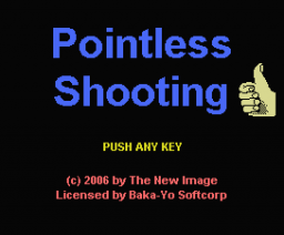 Pointless Shooting (2006, MSX, TNI)