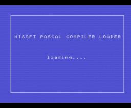 Pascal (1984, MSX, Hisoft)