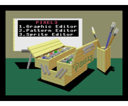 Pixel 3 (1988, MSX2, T&ESOFT)