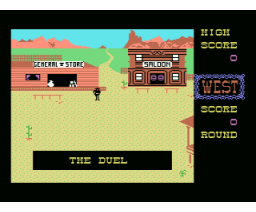West (1987, MSX, Newsoft)