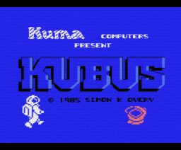 Kubus (1985, MSX, Kuma Computers)