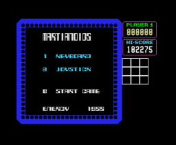 Martianoids (1987, MSX, Ultimate Play The Game)