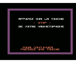 Omega Planète invisible (1985, MSX, Infogrames)