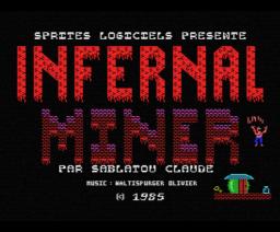 Infernal Miner (1985, MSX, Loriciels)