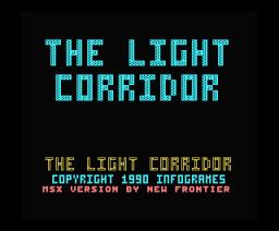 The Light Corridor (1990, MSX, Infogrames)