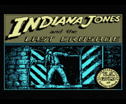 Indiana Jones and the Last Crusade (1989, MSX, US Gold, Lucasfilm Games)