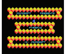 Pyramid (1985, MSX, Jojosoft)