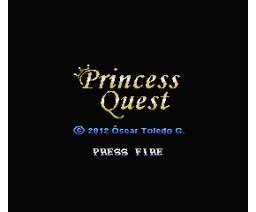 Princess Quest (2012, MSX, MSX2, Óscar Toledo Gutiérrez)