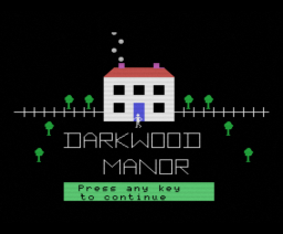 Darkwood Manor (1985, MSX, Kuma Computers)