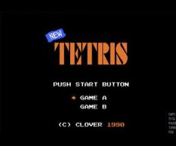 New Tetris (1990, MSX, Clover)