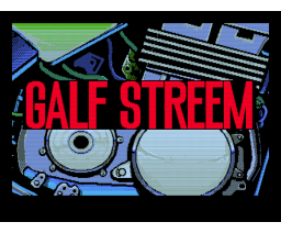 Galf Streem (1989, MSX2, Sein Soft / XAIN Soft / Zainsoft)