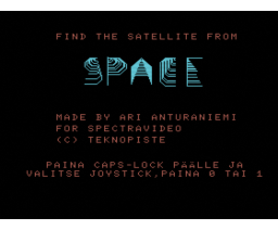 Space Satellite (MSX, Teknopiste)