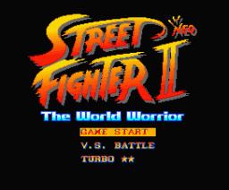 Street Neo Fighter II - The World Warrior (1994, MSX2, Unknown)