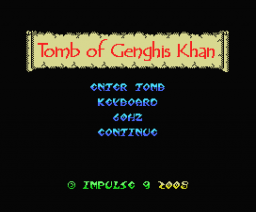 Tomb of Genghis Khan (2008, MSX, Impulse9)