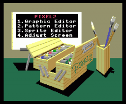 Pixel 2 (1985, MSX2, T&ESOFT)