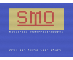 SMO Ondernemingsspel 2 (1986, MSX, Vendex Software Development)