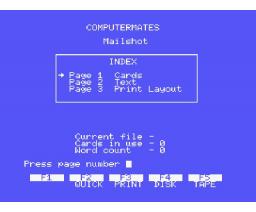 MSX Home Office (1986, MSX, Computer Mates)