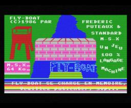 Fly-boat (1986, MSX, MSX2, Standard MSX)