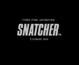 Snatcher (1988, MSX2, Konami)