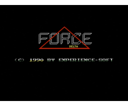 Delta Force (1990, MSX2, Experience Soft)