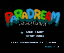 PaRaDream (1992, Turbo-R, RAC House)