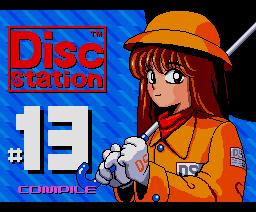 Disc Station 13 (90/6) (1990, MSX2, MSX2+, Compile)