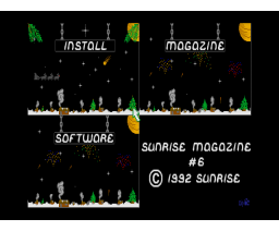Sunrise Magazine 06 (1993, MSX2, Sunrise)