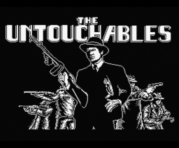 The Untouchables (1989, MSX, Ocean)