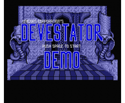 Devestator FM-PAC Demo (1990, MSX2, The Unicorn Corporation)