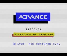 Creador de Gráficos (1985, MSX, Ace Software S.A.)
