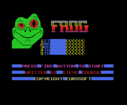 Frog (1988, MSX, Eurosoft)