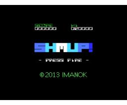 SHMUP! (2013, MSX, Imanok)