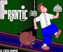 Frantic (1992, MSX2, Anma)