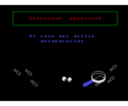 Snooper Troops: Case #2 - The Case of the Disappearing Dolphin (1986, MSX2, Spinnaker Software Corporation)