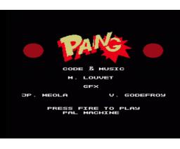 Pang! (2015, MSX, Michel Louvet)