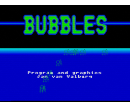 Bubbles (1993, MSX2, MGF)