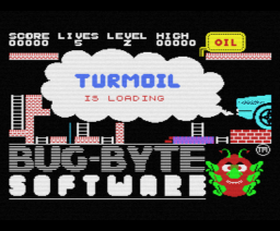 Turmoil (1985, MSX, Bug-Byte Software)