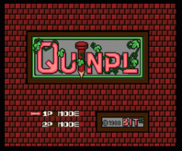 Quinpl (1988, MSX2, MSX2+, Bit²)