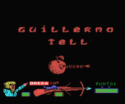 Guillermo Tell  (Gunstick version) (1989, MSX, Opera Soft)
